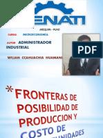 Fronteras de Posibilidad Exposicion