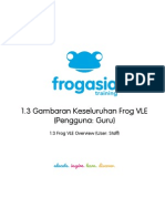 Gambaran Keseluruhan Frog Vle. cara menukar theme dan membuat sites.
