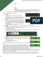 Instalación de memoria RAM
