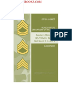 2003 US Army Soldiers Manual of Common Tasks Skill Level 2, 3, 4 476p