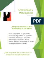 Creatividad y Matemáticas
