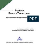 Modulo de Politica Publica Territorial