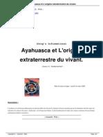 Ayahuasca Et L Origine