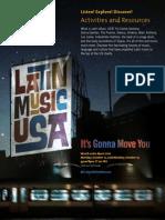 Latin Music USA - Viewing Guide