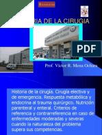 1a. Historia1 - Cirugía - Respuesta al Trauma- Nutrición 2013.