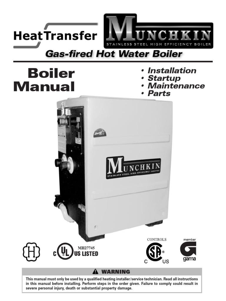 Munchkin Boiler Manual   Water Heating   Valve
