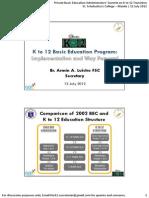 BEC vs K12