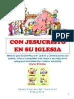 Catequesis Familiar - Con Jesucristto Iglesia
