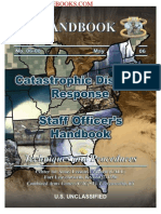 2006 Us Army Catastrophic Disaster Response Staff Officers Handbook 292p