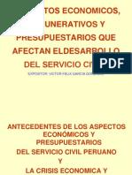 Economia, Remuneraciones y Presupuesto_servicio Civil