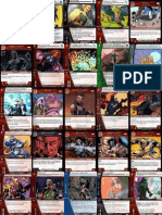 Deck Project for vs system, some sample cards