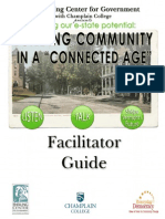 "Building Community in a ""Connected"" Age (Facilitator Guide)"