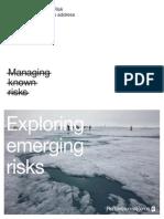Emerging Risk Mitigation