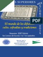 Simposio El Mundo de Los Difuntos - Septiembre 2014 - Madrid