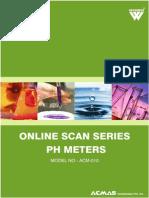 Online Scan Series pH Meters