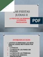 Las Fiestas Judias II Pentecostes