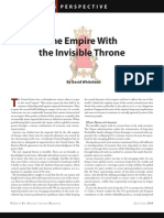 The Empire With the Invisible Throne - By David Whitehead