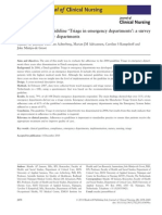 Adherence to the guideline 'Triage in emergency departments' a survey