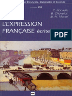 L'expression française - écrite