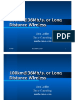 Long Distance Wifi