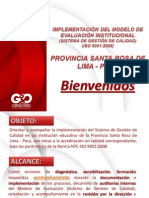 Presentación ETAPAS MODELO DE CALIDAD