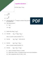 Logarithms Questions