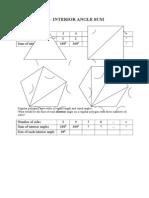 Angles and Polygons