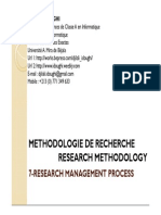 7-Research Management Process