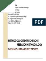 7-Research Management Process