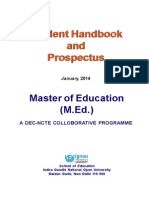 Prospectus MED January 2014
