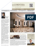 Your Corinthia Magazine | 2013 October