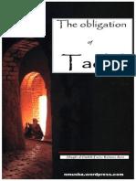 TheObligationOfTaqldByShaykhAl-hadithFazlurRahmanAzmi
