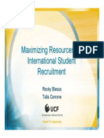 Presentation International Recruitment