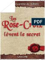 Les Rose-Croix lèvent le secret