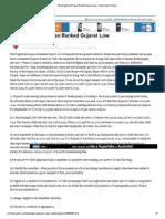 Why Raghuram Rajan Ranked Gujarat Low - Yahoo India Finance