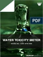 Water Toxicity Meter