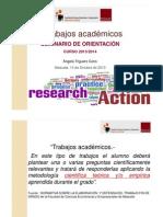 TFG Trabajo académico