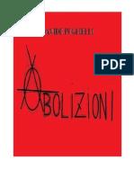 A B O L I Z I O N I (Davide Puglielli)