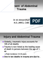 Abdominal Trauma Final