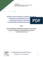 Określenie jednolitych metod obliczania przepływów maksymalnych rocznych o określonym prawdopodobieństwie przewyższania w zlewniach kontrolowanych.pdf