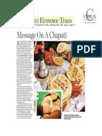 13Feb8 ET Message on a Chapati Tcm114 343912