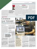 """El Periodico / Cromos por """"trivials"""""""