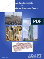 Design Fundamentals of Postitensioned Concrete Floors