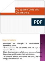System of UNITS