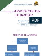 Que Servicios Ofrecen Los Bancos ABEL VARGAS 1