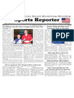 October 9 - 15, 2013 Sports Reporter