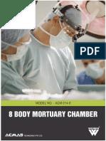 8 Body Mortuary Chamber
