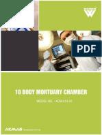 10 Body Mortuary Chamber