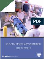 50 Body Mortuary Chamber