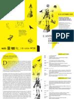 L'anthropologie matérialiste de Diderot et les sciences Programme